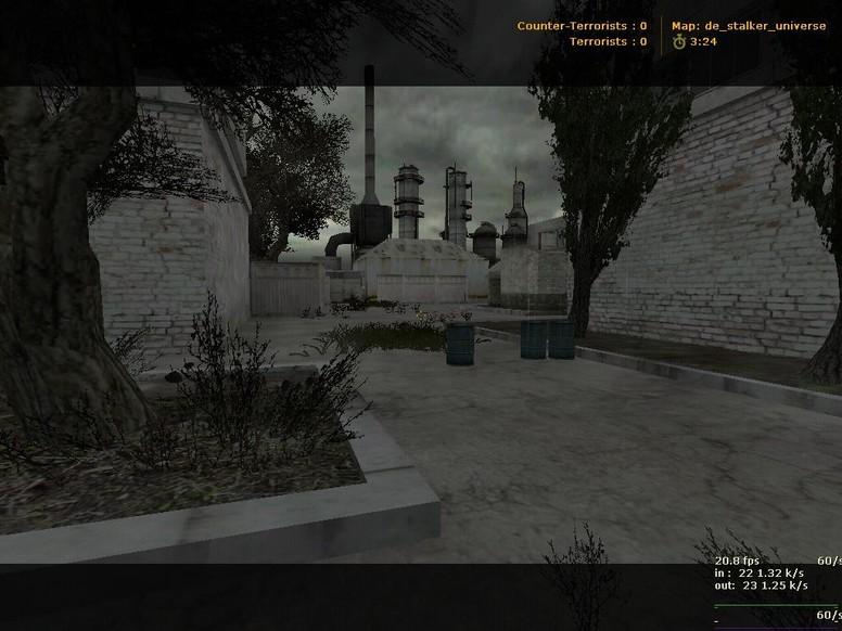 «de_stalker_universe» для CS 1.6