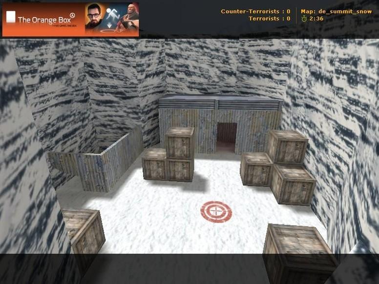«de_summit_snow» для CS 1.6