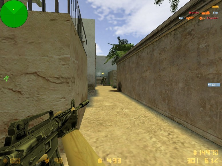 «de_sunburn» для CS 1.6