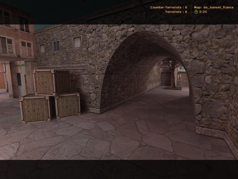 «de_sunset_france» для CS 1.6