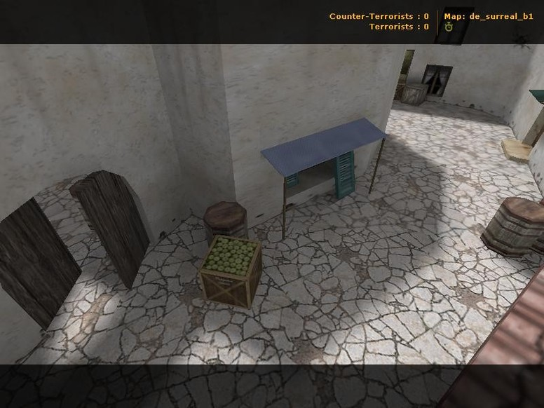«de_surreal_b1» для CS 1.6