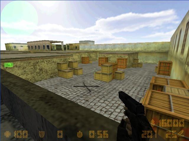 «de_town» для CS 1.6