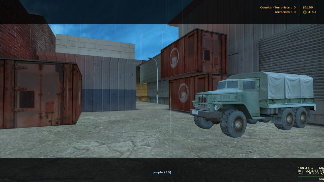 «de_train2015» для CS 1.6