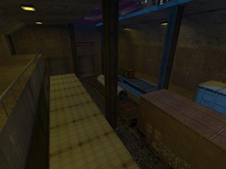«de_train_assault» для CS 1.6