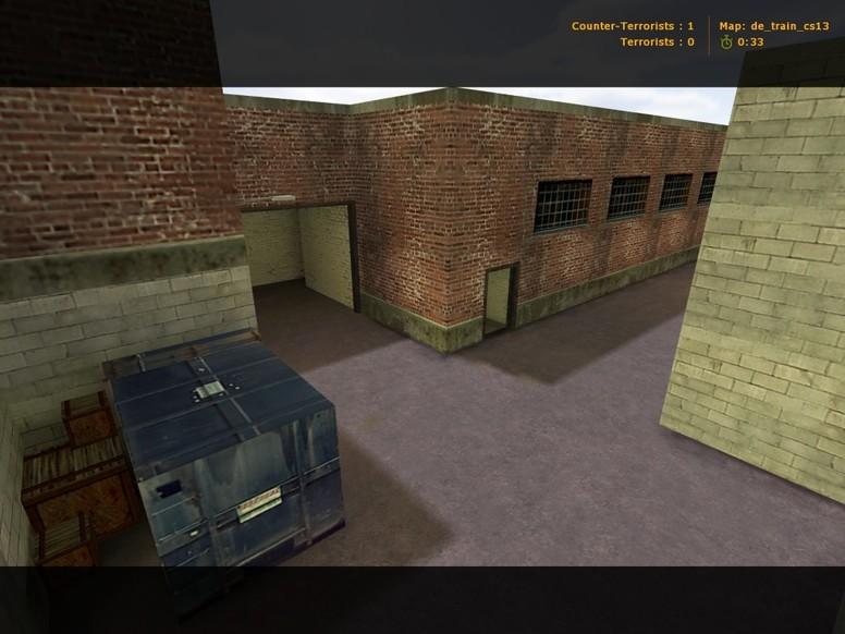 «de_train_cs13» для CS 1.6