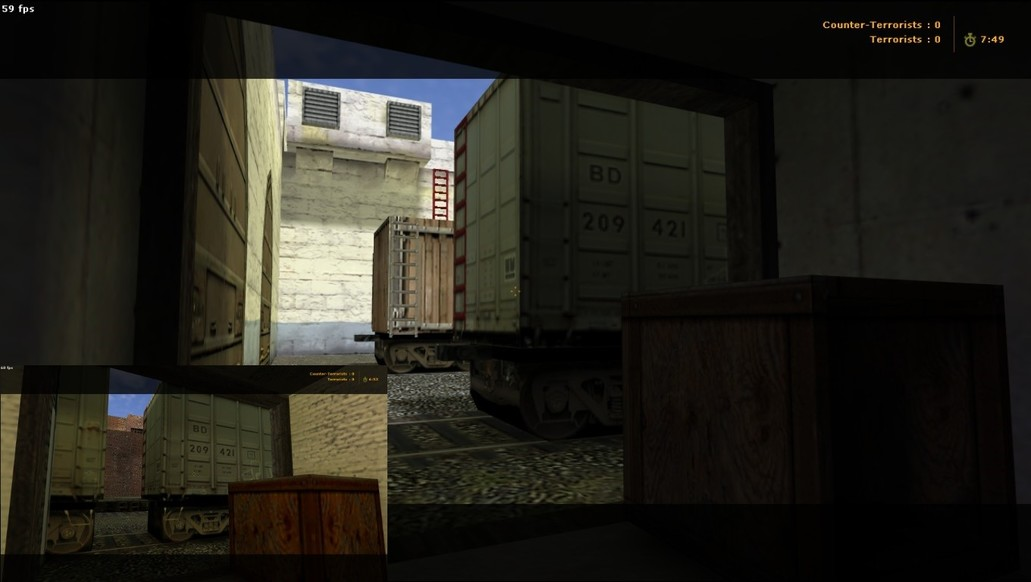 «de_train_sl» для CS 1.6