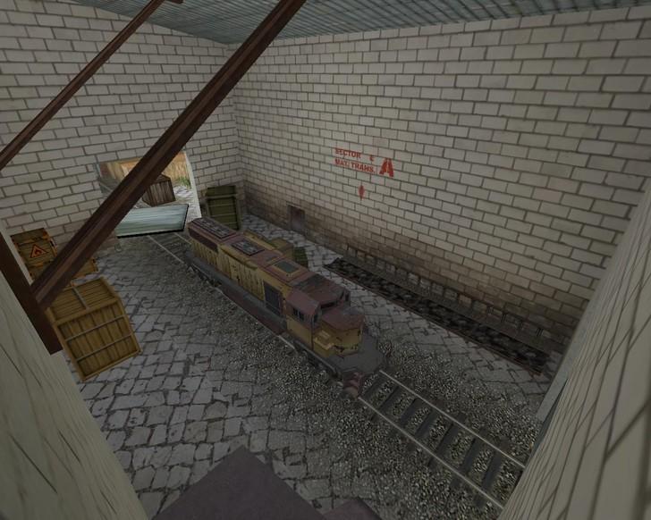 «de_trainstorage» для CS 1.6