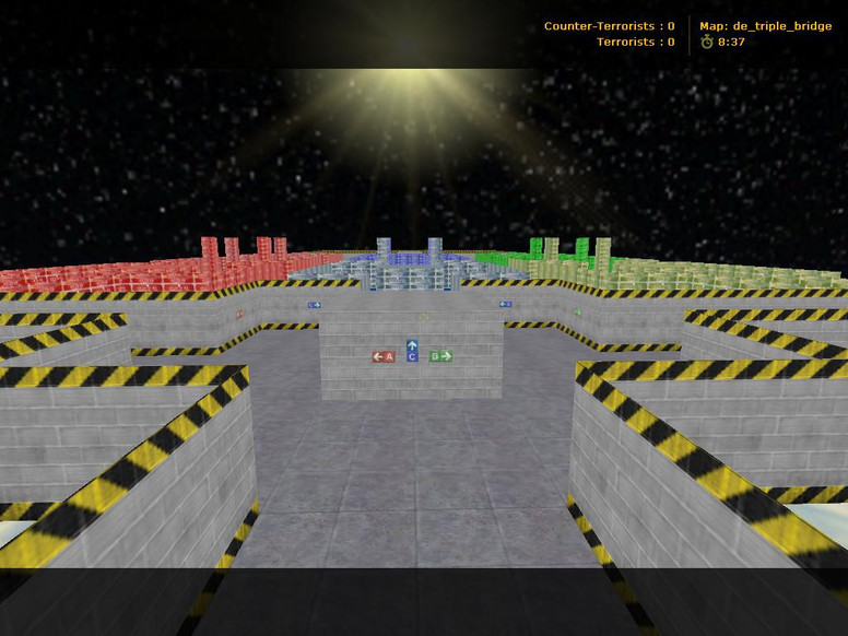 «de_triple_bridge» для CS 1.6