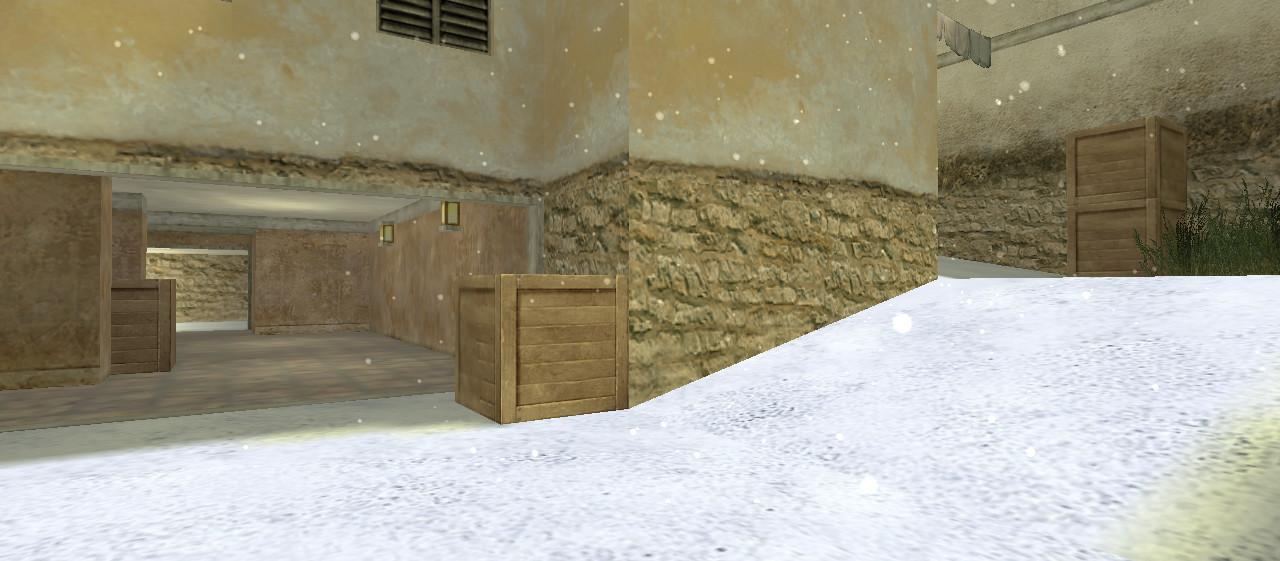 «de_tuscan_winter» для CS 1.6