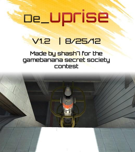 «de_uprise» для CS 1.6