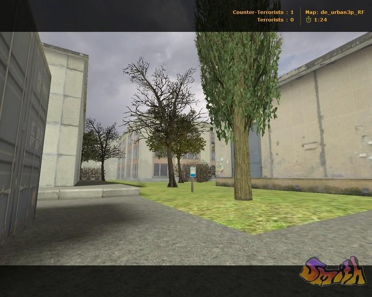 «de_urban3p_rf» для CS 1.6