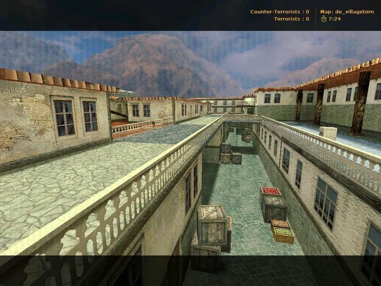 «de_villagetorn» для CS 1.6