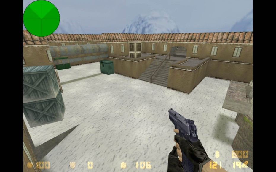 «de_vinter» для CS 1.6