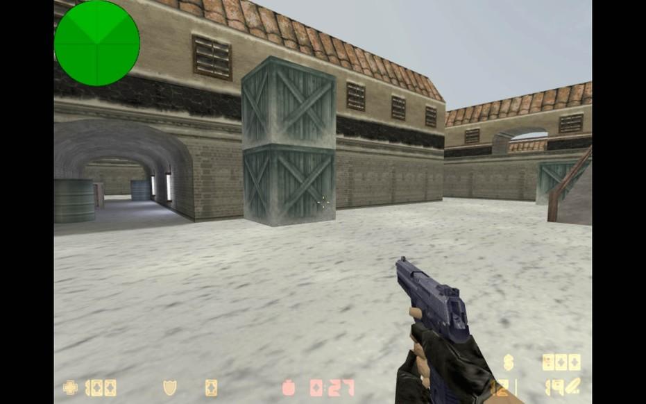 «de_vinter» для CS 1.6