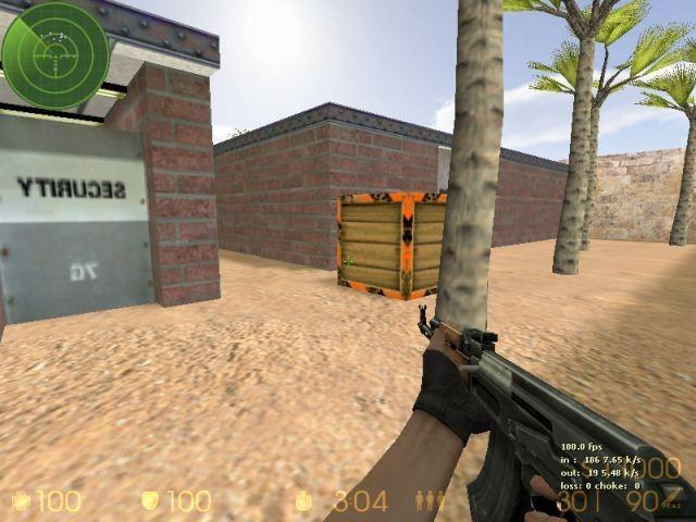 «de_wall» для CS 1.6