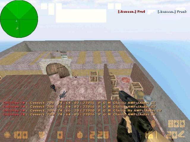 «de_walls» для CS 1.6
