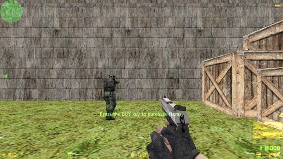 «de_warzone» для CS 1.6