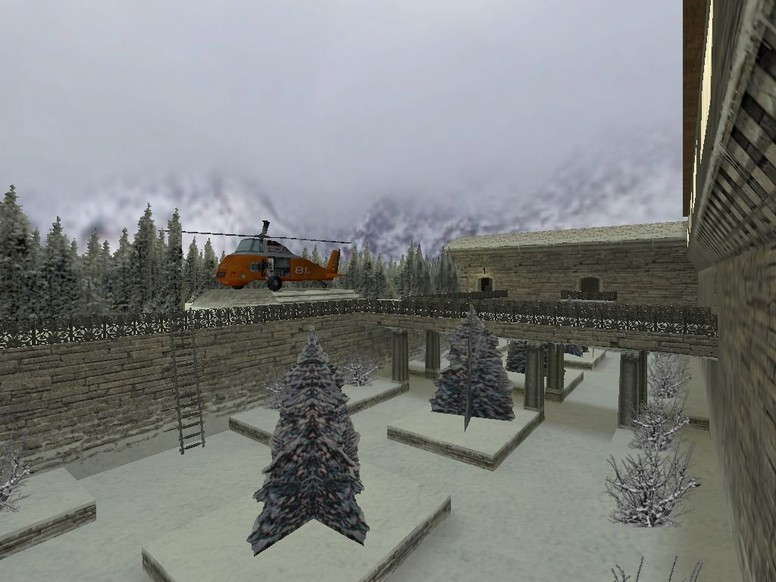 «de_winter_austria2» для CS 1.6