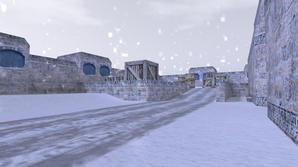 «de_winterdust» для CS 1.6