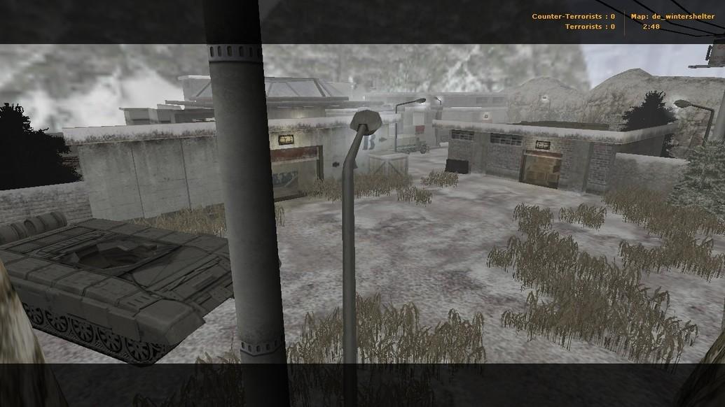 «de_wintershelter» для CS 1.6