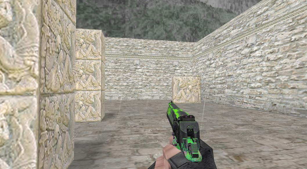 «Deagle Кислотный выстрел» для CS 1.6