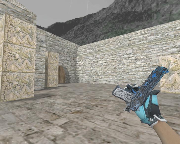 «Deagle «Синяя фанера» (Blue Ply)» для CS 1.6