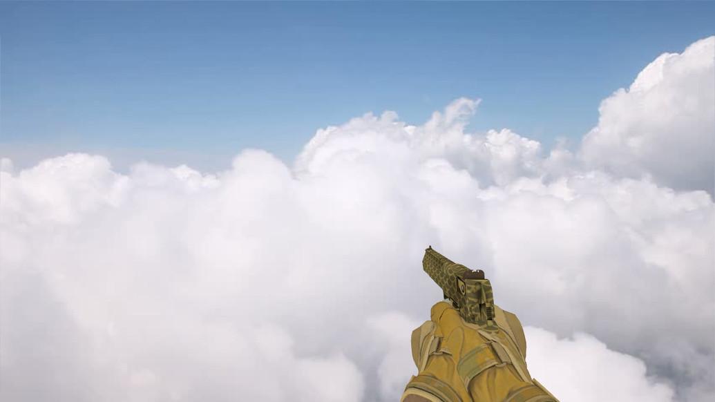 «Deagle Золотой карп» для CS 1.6