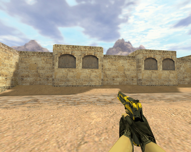 «Deagle Желтый жакет» для CS 1.6