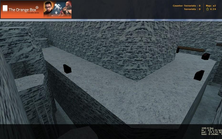 «deathrun_adi_snowycliff» для CS 1.6