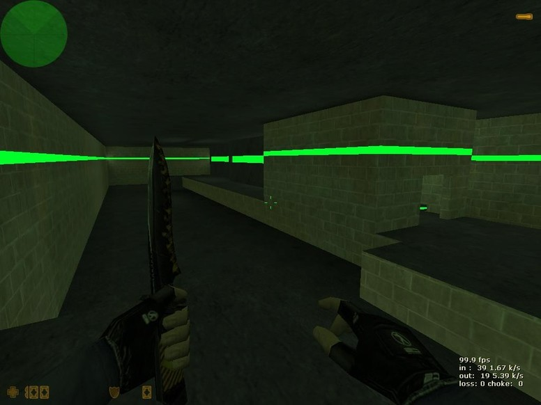 «deathrun_all_green3» для CS 1.6