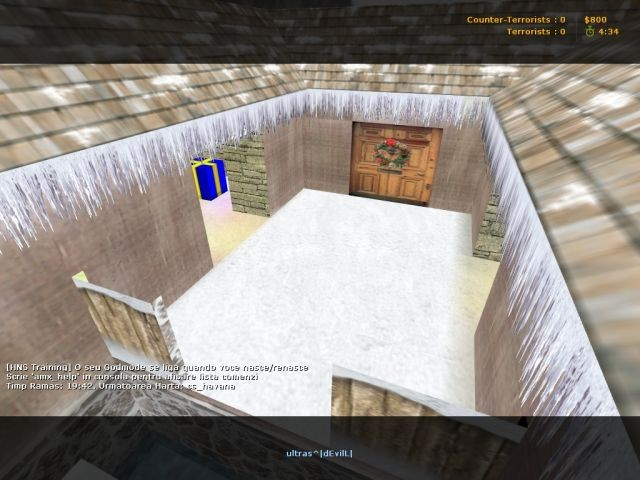 «deathrun_alleywinter» для CS 1.6