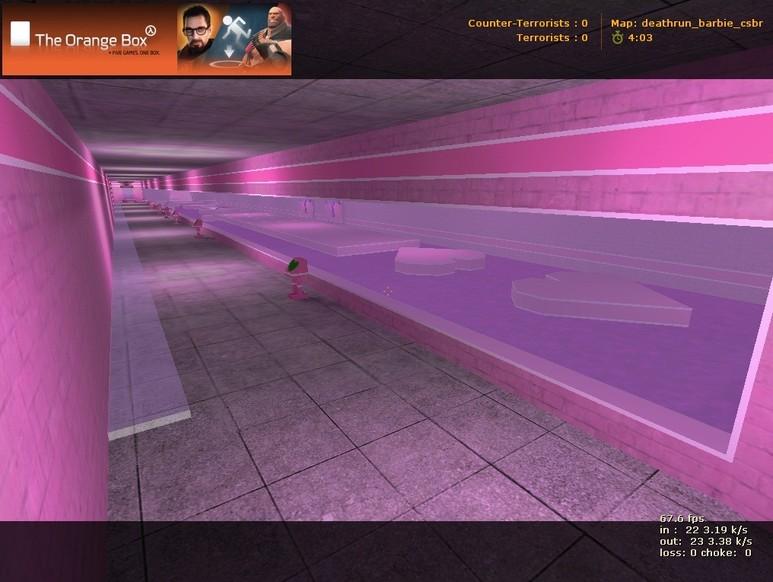 «deathrun_barbie_csbr» для CS 1.6
