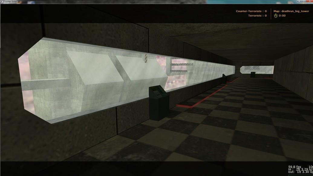 «deathrun_big_tower» для CS 1.6
