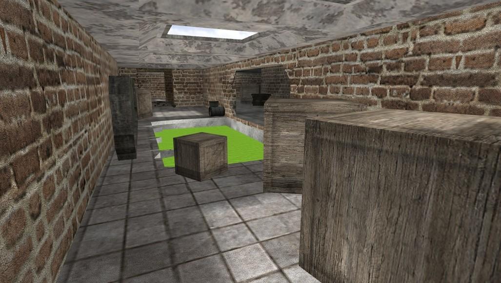 «deathrun_brickwall2» для CS 1.6