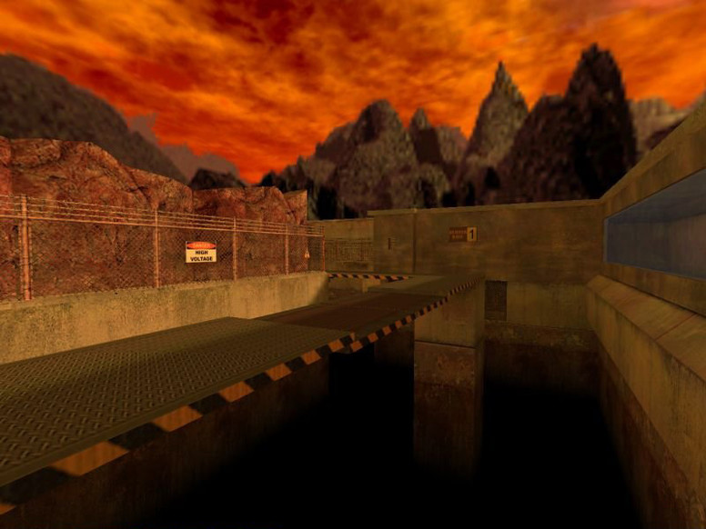 «deathrun_burnzone» для CS 1.6