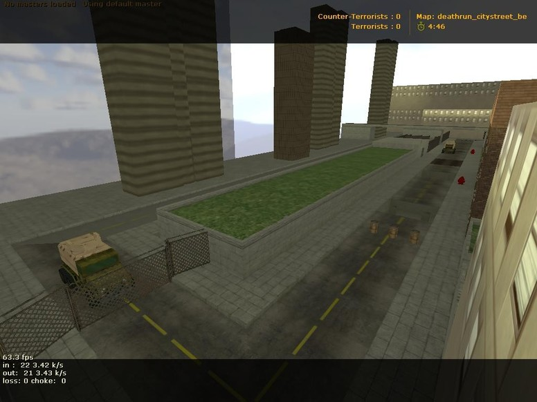 «deathrun_citystreet_be_short» для CS 1.6