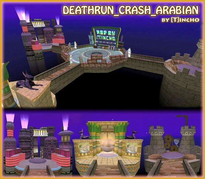 «deathrun_crash_arabian» для CS 1.6