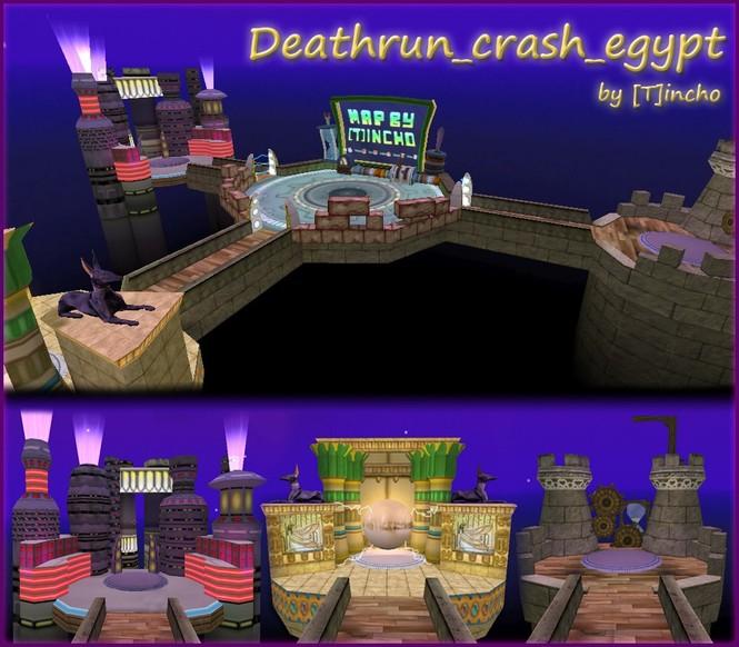 «deathrun_crash_egypt» для CS 1.6