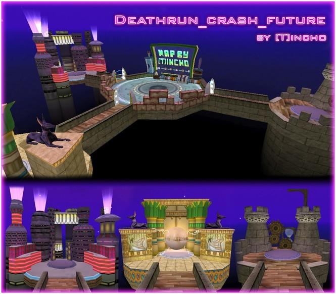 «deathrun_crash_future» для CS 1.6