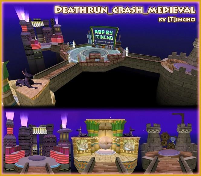 «deathrun_crash_medieval» для CS 1.6