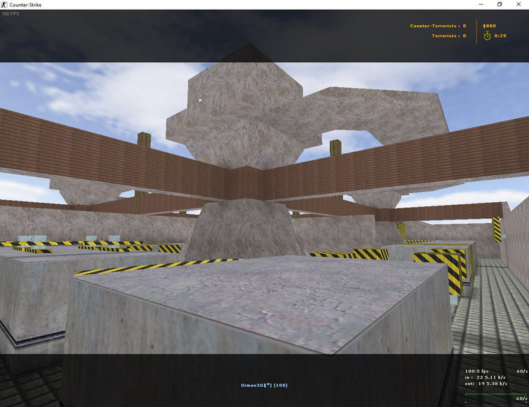 «deathrun_crazyhop_v2» для CS 1.6