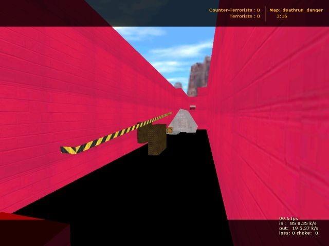 «deathrun_danger» для CS 1.6