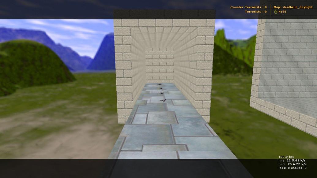 «deathrun_daylight» для CS 1.6