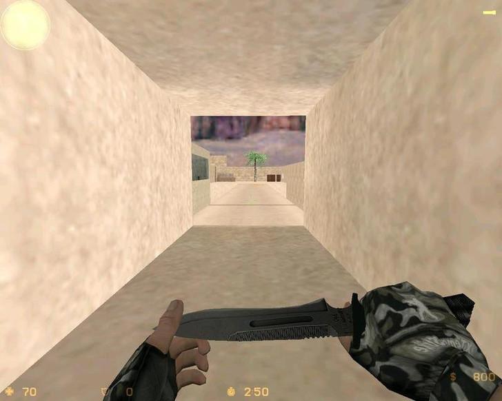 «deathrun_desert» для CS 1.6