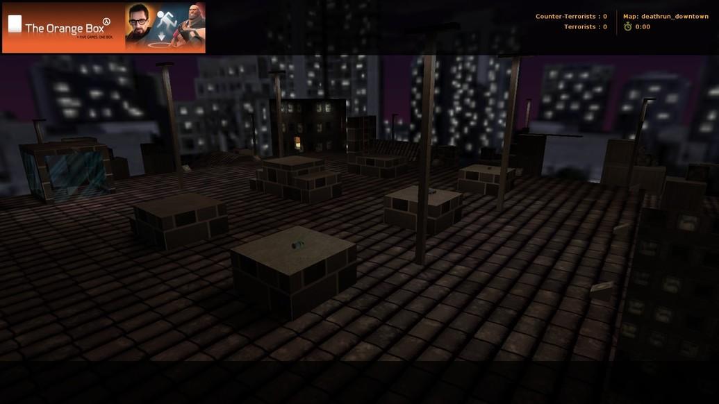 «deathrun_downtown» для CS 1.6