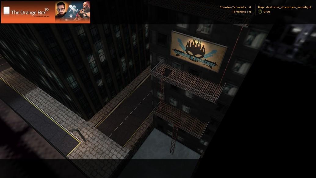 «deathrun_downtown_moonlight» для CS 1.6