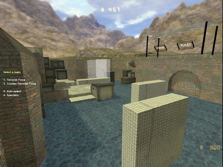 «deathrun_dust2_click21» для CS 1.6