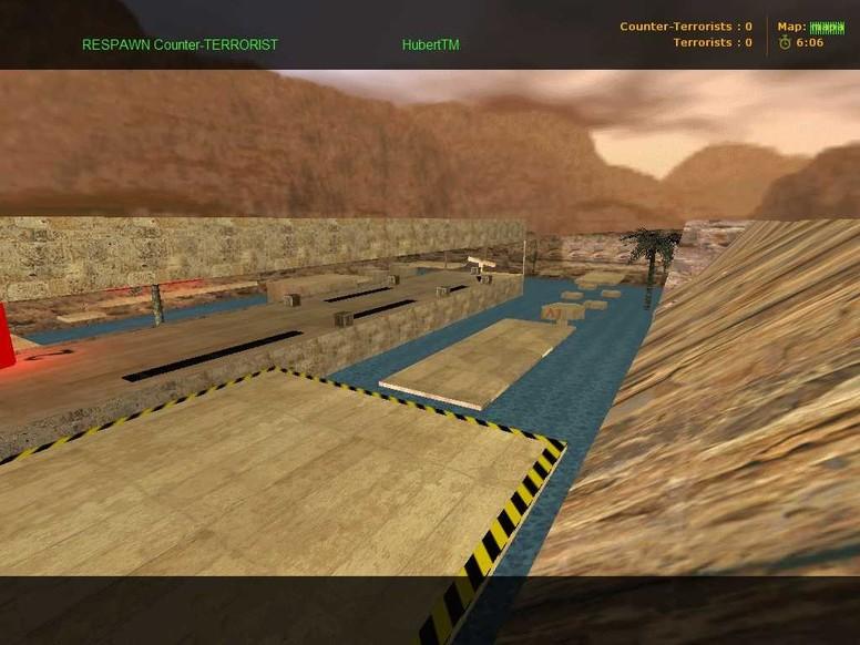 «deathrun_dustcs_v1» для CS 1.6