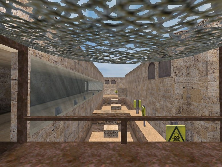 «deathrun_dustroad» для CS 1.6