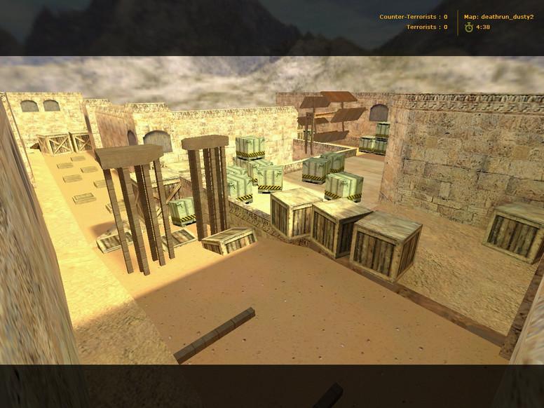 «deathrun_dusty2» для CS 1.6